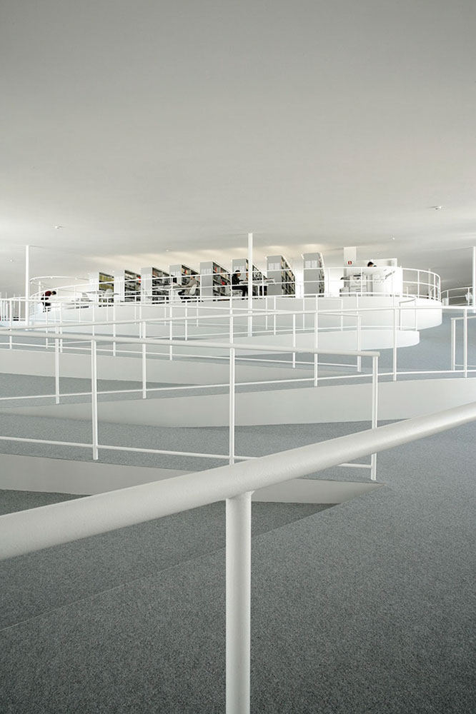 Rolex Learning Center, Lausanne, Switzerland, SANAA Architects